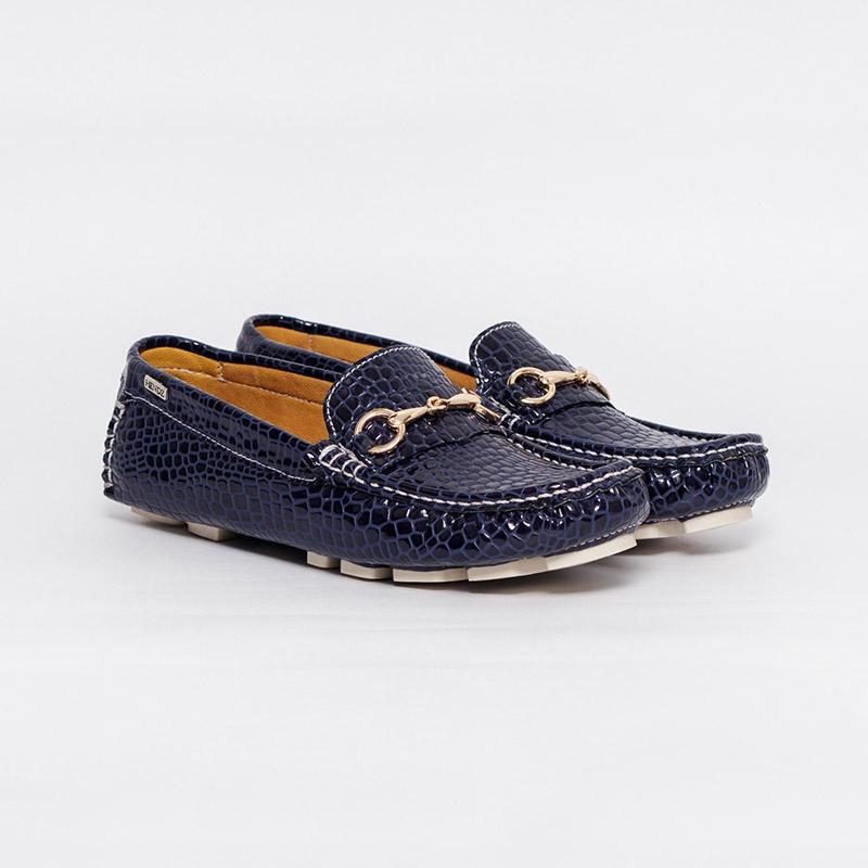515e4b87f9b73 Mocasines en charol para mujer - Zapatos y Mocasines HENDZ